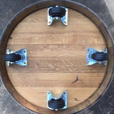 Wielset voor onder een (half) wijnvat