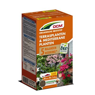DCM organische terrasplanten & mediterrane meststof 1,5 kg