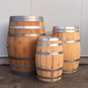 Wijnvaten uit voorraad
