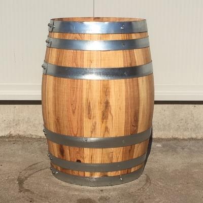 Kanstanje houten portvat 30 liter, geolied met lijnolie