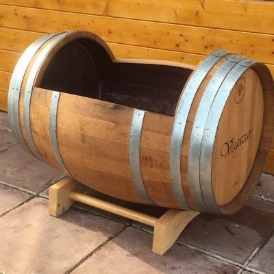 Liggend wijnvat eiken 225 liter