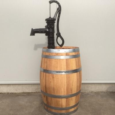 Kanstanje portvat 160 liter met handpomp