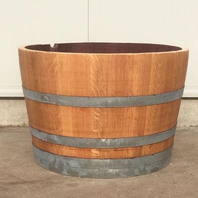 Half eiken wijnvat 112 liter