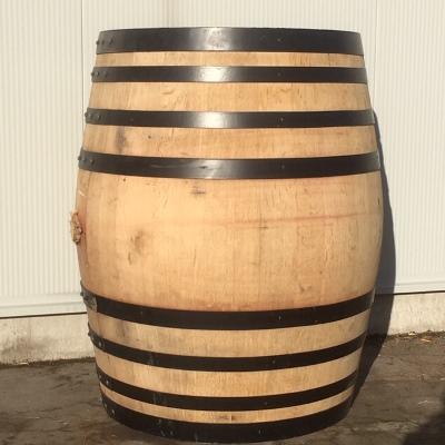 Eiken wijnvat 400 liter, zwarte banden
