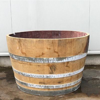 Half eiken wijnvat 150 liter