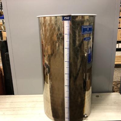 INOX vat 150 liter