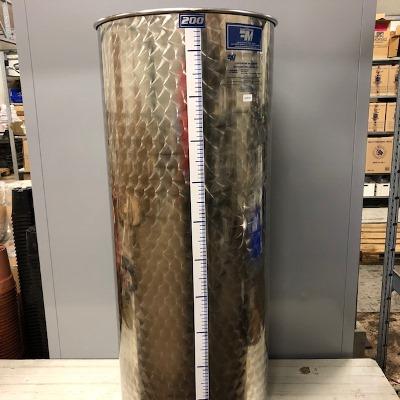 INOX vat 200 liter